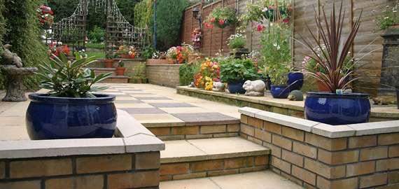 garden patio contractors london